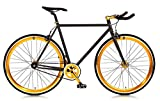 Blackout Single Speed Fixie Bike