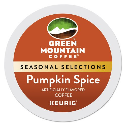 GMT6758 - Green Mountain Coffee Roasters Fair Trade Certified Pumpkin Spice Flavored Coffee K-Cups Pumpkin Spice K-cup