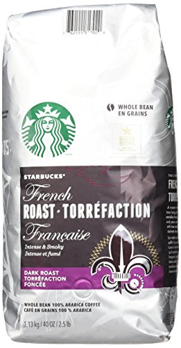 Starbucks French Roast Everything Bean Coffee, 40 Ounce