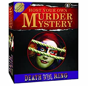 Death in the Ring Murder Mystery Game