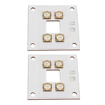 P Prettyia 2 Pieza Curado LED Panel 3D Impresora Accesorios de ...