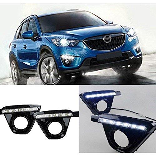 AupTech Mazda CX-5 2011 2012 LED de conducciš®n diurna Luz de la lš¢mpara del coche de la luz blanca: Amazon.es: Juguetes y juegos
