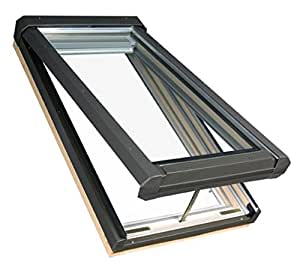FAKRO 68806 Manual Venting Skylight, 22-1/2-Inch x 26-3/4-Inch