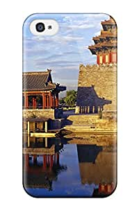 Alpha Analytical's Shop Iphone 4/4s Hard Back With Bumper Silicone Gel Tpu Case Cover Beijing City