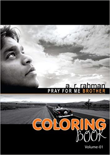 Buy Pray For Me Brother A R Rahman Coloring Book For Children
