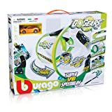 Bburago - 30286 - Circuit De Voiture - Go Gears - Super Spin Speedway Avec 1 Véhicule