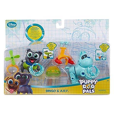 f477ff438fe Amazon.com  Disney Collection Puppy Dog Pals Bingo   ARF Action Figure  Playset  Toys   Games