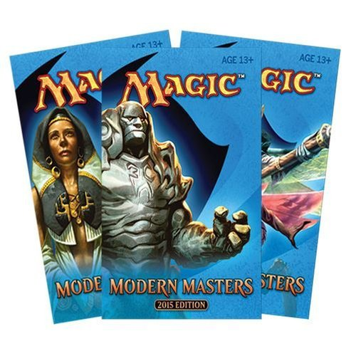 3  Three  Packs Of Magic  The Gathering  Modern Masters 2015 Edition   Mm2015  3 Pack Lot