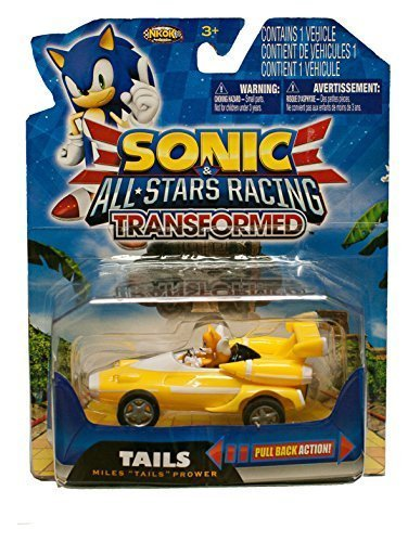 Sonic the Hedgehog and Sega All Stars Racing Transformed - Miles Tails Prower by NKOK (Sonic And Sega All Stars Racing Tails)