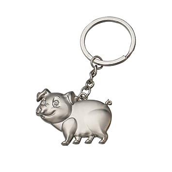Walmeck- Llavero en Forma de Lindo Cerdo Cerdito para ...