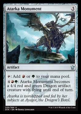 Magic: the Gathering - Atarka Monument (233/264) - Dragons of Tarkir