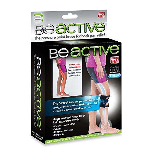 Beactive Brace acupres Sure for Back Leg Hip sciatica AS Seen on TV Be Active Brace