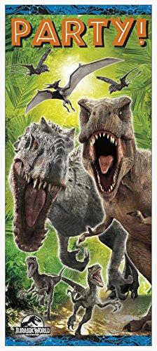 Jurassic World Door Poster Decoration