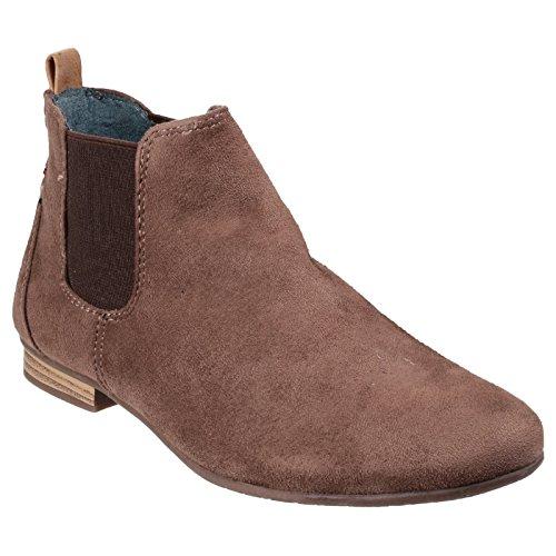 Divaz Damen Pisa Ankle-Boots (39 EU) (Taupe)