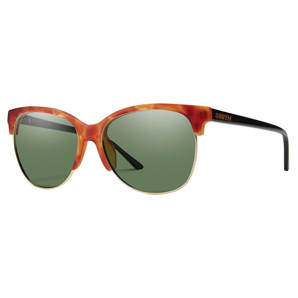 3e6bbe1e64b Smith Rebel ChromaPop Polarized Sunglasses Matte Honey Tortoise Smith Optics