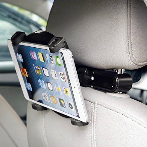 FLEXIMOUNTS Adjustable Rotating Headrest Car Back Seat Ta...