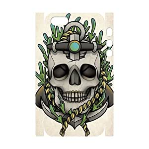 I-Cu-Le Cell phone Protection Cover 3D Case Sugar Skull For Iphone 5,5S