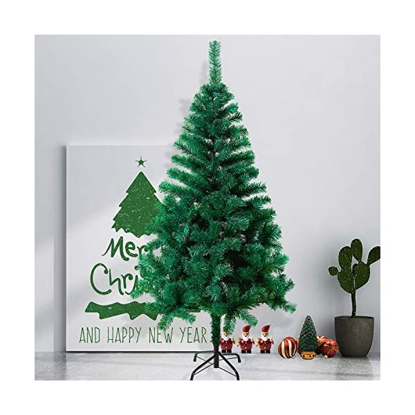 Mctech, albero di Natale artificiale, colore: verde, PVC, 240 cm 5 spesavip