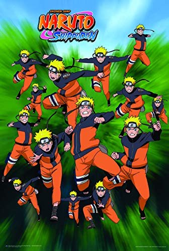 Naruto Poster - Shadow Clone Techniques - 24