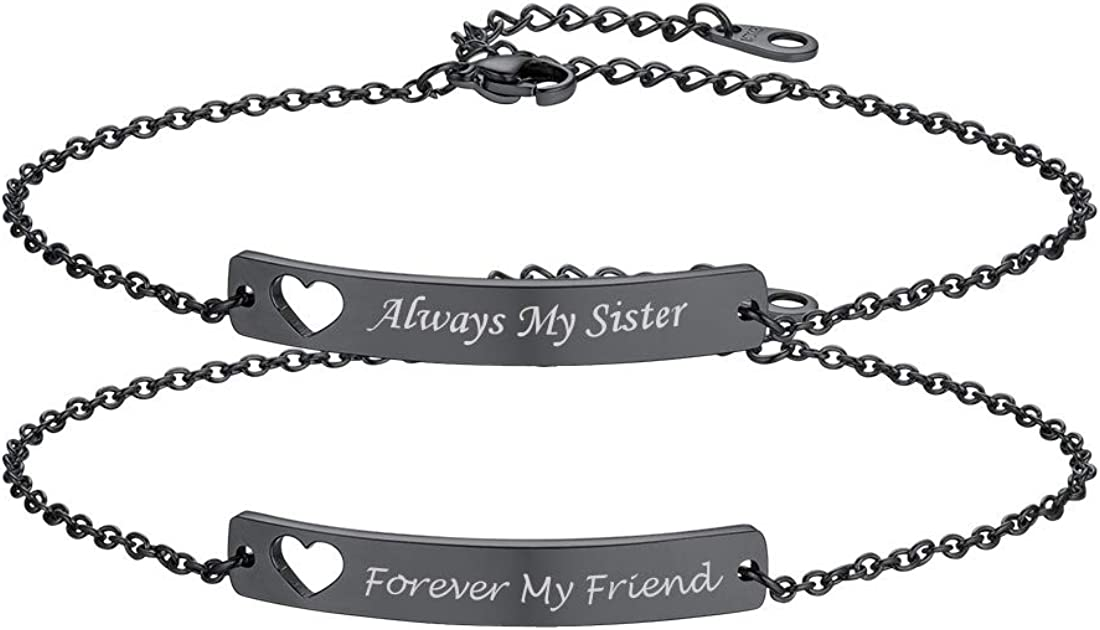 Personalized Bracelet \u2022 Custom Name Jewelry \u2022 Your Own Text \u2022 Inspirational \u2022 Silver Plated Over Stainless Steel