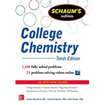 Schaum's Outline of College Chemistry: 1,340 Solved Problems + 23 Videos (Schaum's Outlines)