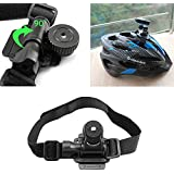 Bike Helmet Mount Bicycle Holder for Mobius ActionCam Sports Camera Video DV DVR