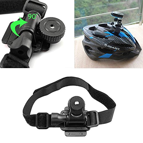 Bike Helmet Mount Bicycle Holder for Mobius ActionCam Sports Camera Video DV DVR CLKJYF