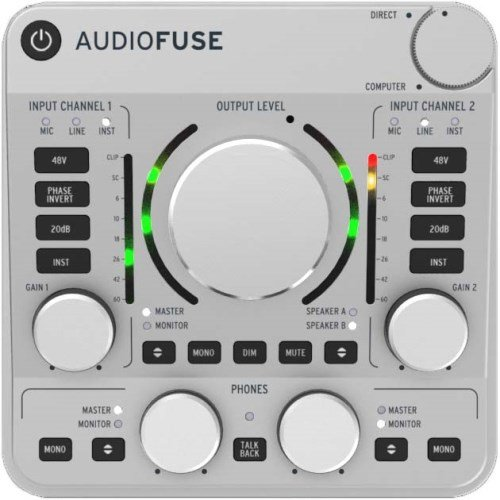 Arturia AudioFuse - Classic Silver by Arturia