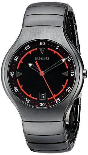 Rado Men s R27677152 True Black High Tech Ceramic Bracelet Watch