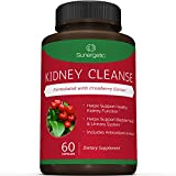 Premium Kidney Cleanse Supplement – Premium Kidney Support Formula With Cranberry Extract Helps Support Healthy Kidneys, Bladder Health & Urinary Tract System– 60 Vegetarian Capsules