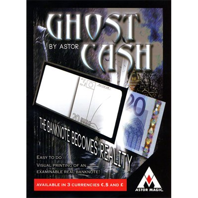 Ghost Cash (Euro) by Astor – Trick