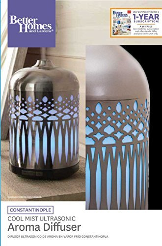Better Homes and Gardens Antique Pewter Large Oil Diffuser by Better Homes and Gardens (Image #1)