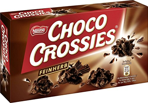 Nestle Choco Crossies Feinherb 160g