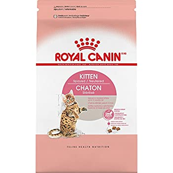 ROYAL CANIN FELINE HEALTH NUTRITION Kitten Spayed/Neutered dry cat food, 2.5-Pound