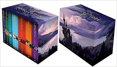 HARRY POTTER PAPERBACK BOX SET: COMPLETE SEVEN VOLUME COLLECTION ...