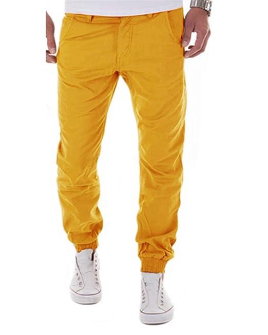 Tomwell Casuales Baggy Pantalones Largos para Hombre Jogger Pantalón  Elásticos Harén Jogging de Deportivos Pants  Amazon.es  Ropa y accesorios a7ec989ed46d