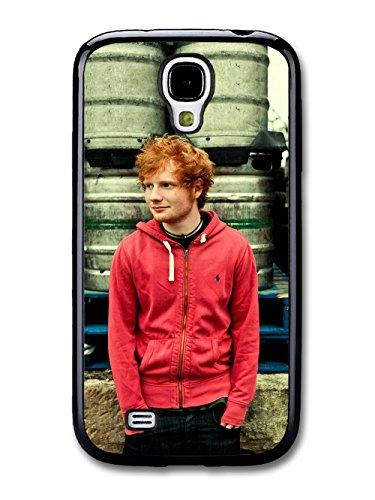 Ed Sheeran Red Hoodie Posing coque pour Samsung Galaxy S4