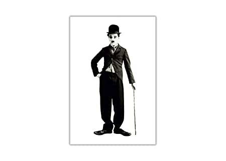 c4002e910c018 Black and White Charlie Chaplin Poster Wall Art Prints Home Decoration  Hollywood Movie Legends Size A3 (42cm X 29.7cm)  Amazon.co.uk  Kitchen    Home
