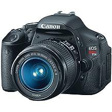 Canon EOS Rebel T3i 18.0MP Digital SLR Camera with EF-S 18-55mm f/3.5-5.6 IS II Zoom Lens, Black (5169B004)