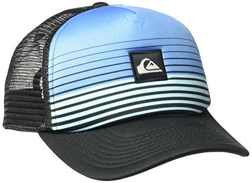 Quiksilver Men's Stripe Block Hat, Turkish Sea, One Size