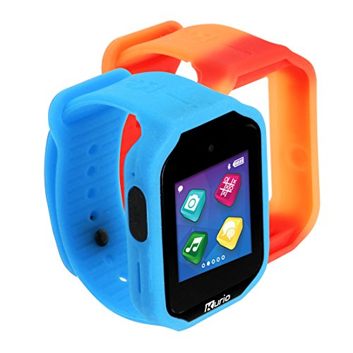 Kurio Watch 2.0+ The Ultimate Smartwatch Built for Kids with 2 Bands, Blue and Color Change