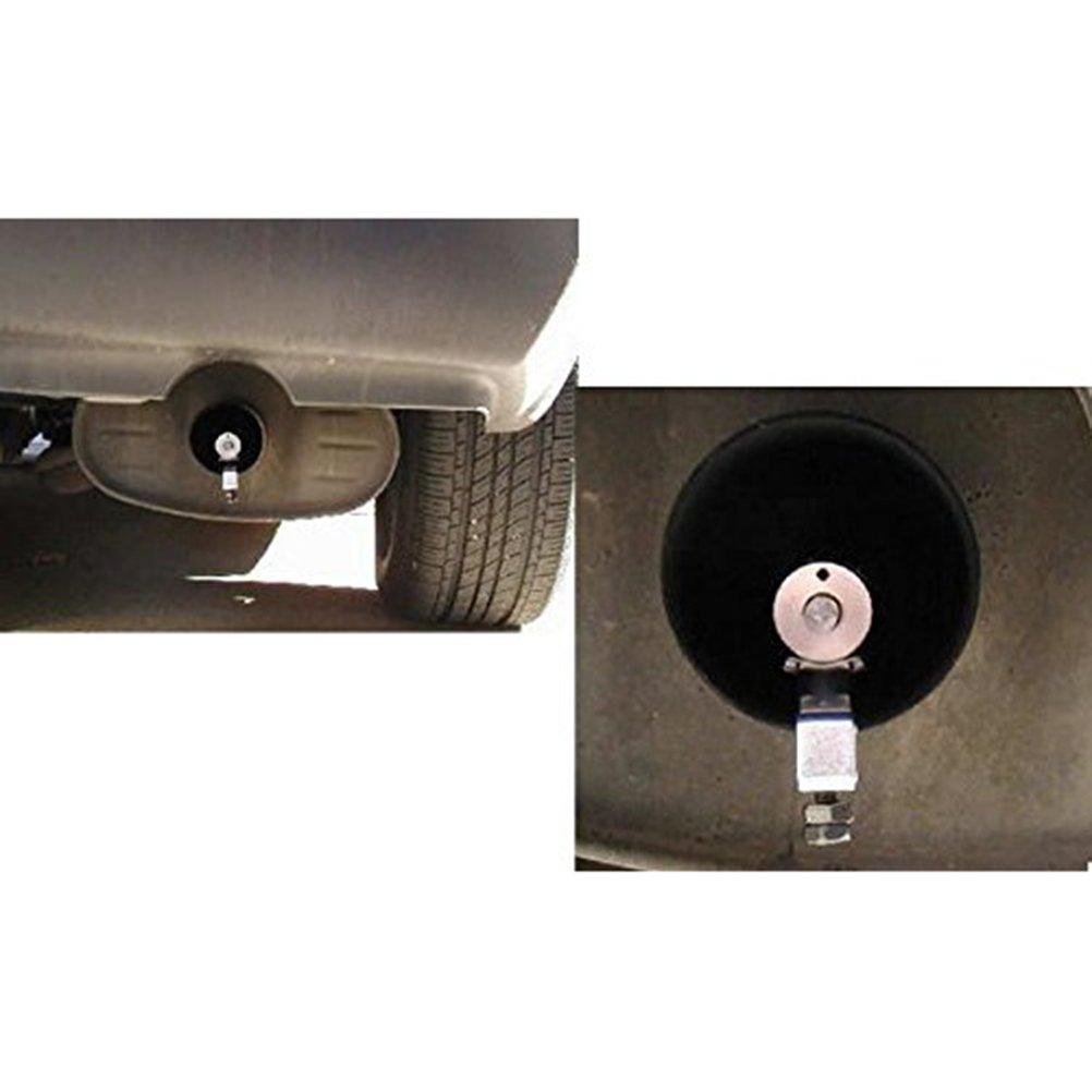 colore blu VORCOOL Auto Turbo Sound scarico fischio tubo terminale di scarico Valvola Blow-Off Simulator taglia M