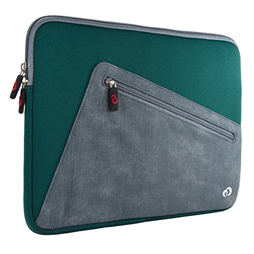 - NX Slim Neoprene Protective Laptop Sleeve 13-13.3 inch, 360 Water Resistant PC Cover Case for MacBook Pro & Air 13', Microsoft Surface Pro, Chromebook (Green)