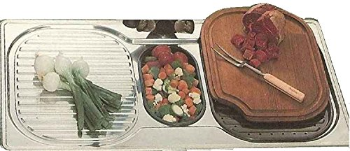 FRANKE One and One Half Bowls Left Hand Drainboard CP6511L single hole 38