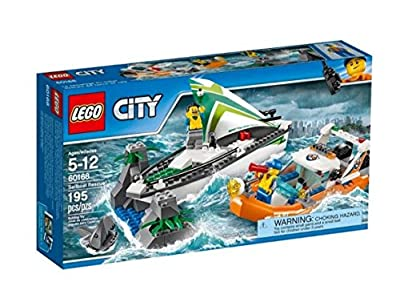 Lego City Sailboat Rescue Set 60168 (195 Pieces) Discontinued by Manufacturer