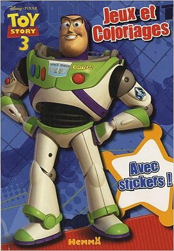 Bloc Jeux Et Coloriages Toy Story 3 9782508007491 Amazoncom Books