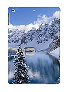 9e0203a1894 Premium Moraine Lake Banff National Park Back Cover Snap On Case For Ipad Air