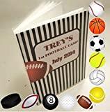Football Photo Album IA#072 Sports Gift 4x6 or 5x7 Championship Tournament Pictures Team Mom Coach Gift Teammates Basketball Football Volleyball Soccer Hockey Baseball Golf Softball