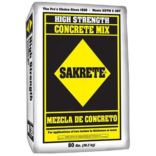 - Mutual Industries 13080-0-0 Sakrete Type S High Strength Mortar Mix, 80 lb.,Pack of 42