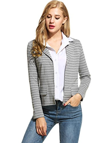 ANGVNS Womens Casual Sleeve Cardigan